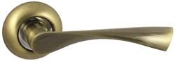 Дверная ручка Винтаж V23Q AL на круглой розетке AB бронза - фото 19260