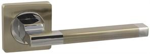 Дверная ручка Винтаж V53D AL на квадратной розетке SN матовый никель