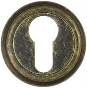 Накладка под цилиндр Винтаж ET03BR состаренная бронза