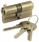 Цилиндровый механизм V60 AB (ключ-ключ) бронза