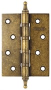 Петля врезная на подшипниках Винтаж B4K-BR состаренная бронза